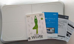 ★Wii Fit バランスWiiボードセット 白☆ジャンク品★