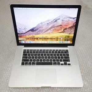美品★ MacBook Pro 15 Core i7-4コア 新品SSD:480GB メモリ:16GB 新品バッテリー Office2016
