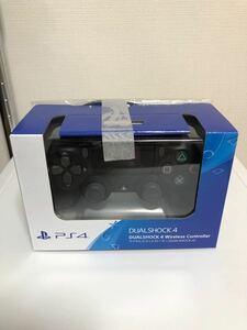 PlayStation4 コントローラー ジェットブラック 純正 充電ケーブル付き