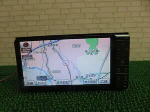 Q610 動作品保障付/TV地デジフルセグ内蔵 Bluetooth/トヨタ純正HDDナビ NHZN-W60G/ テレビ AUX SD 対応/CD DVD  キズあり