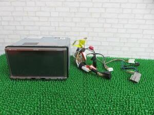 Q623 動作品保証付/イクリプスHDDナビ AVN669HD TVフルセグ地デジ 動作正常 配線あり