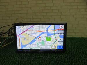 Q701 動作品保証付/イクリプス2013年SDナビ UCNVG03 地デジフルセグ内蔵TV CDDVD再生OK 本体のみ 画面キズあり G03