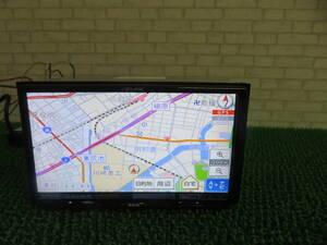 Q702 動作品保証付/イクリプス2013年SDナビ UCNVG03 地デジフルセグ内蔵TV CDDVD再生OK 本体のみ  G03