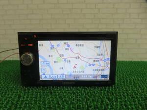 Q797 動作品保証付/カロッツェリア製SDカーナビ AVIC-MRZ088/TVワンセグ内蔵 CDDVD正常 タッチパネル正常 本体のみ  動作正常