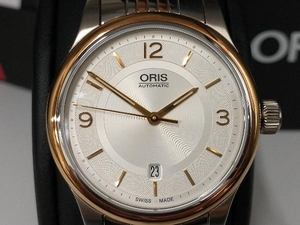 ORIS オリス/クラシックデイト 735 7594 4331/32-17906 時計