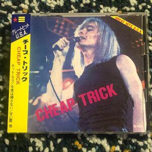 【国内盤CD】チープトリック『グレートヒットUSA』初期アルバムからセレクトした日本編集ベスト