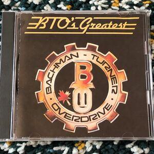 【ベストCD】バックマン・ターナー・オーバードライブ『BTO's グレイテスト』-ハイウェイをぶっとばせ、恋のめまい他収録!