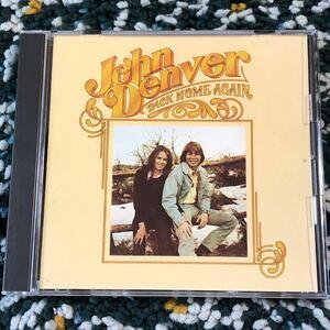 【名盤CD】ジョン・デンバー『バック・ホーム・アゲイン』- 名曲「緑の風のアニー」等収録