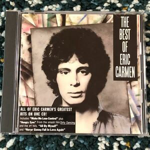 【国内盤CD】エリック・カルメン『オール・バイ・マイセルフ〜ベスト・オブ・エリック・カルメン』