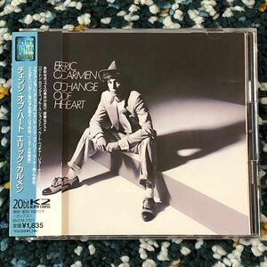 【国内盤CD】エリック・カルメン『チェンジ・オブ・ハート』- TOTOジェフ・ポーカロら参加のAOR名盤!