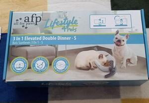 ペット フードボウル ボウルスタンド セット 角度と高さ調節可能 猫 犬