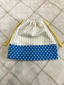ハンドメイド 給食袋 コップ袋 巾着袋 入学準備 入園入学