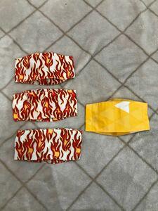 ハンドメイド インナーマスク マスクカバー 立体大臣マスク 幼児から低学年サイズ 1枚の値段