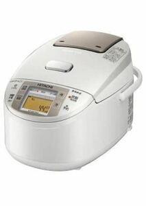 日立 炊飯器 RZ-NX100J-W パールホワイト 蒸気カット 極上炊き 圧力&スチーム