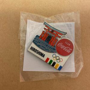 東京オリンピック コカコーラ ピンバッジ 非売品 グッズ スポンサー デイピン コークオン ピンバッチ ピンズ