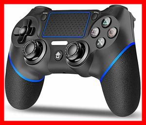 PS4 コントローラー ワイヤレス ゲームパット 600mAh 振動機能