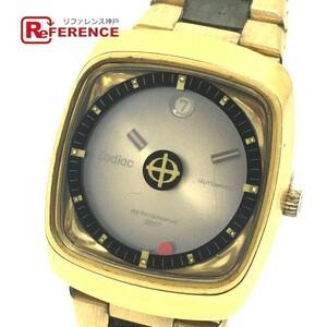 ZODIAC ゾディアック デイト アストログラフィック SST 自動巻き メンズ腕時計 SS×GP メンズ ゴールド