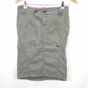 DIESEL ミリタリー タイト スカート size24/ディーゼル 0902