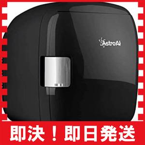 ブラック AstroAI 冷蔵庫 小型 ミニ冷蔵庫 小型冷蔵庫 車載冷蔵庫 冷温庫 9L 化粧品 小型でポータブル 家庭 車載