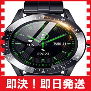 ブラック 260mm*43.5mm*11.3mm スマートウォッチ 最新 Bluetooth5.2 smart watch 活動