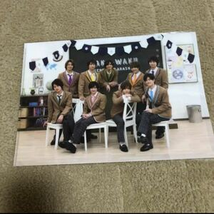Hey!Say!JUMP クリアファイル 集合 ワクワク学校