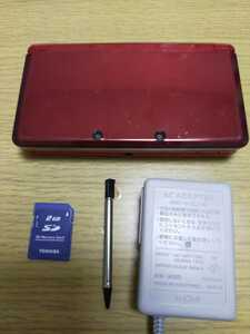 3DS 本体 充電器 タッチペン SDカード