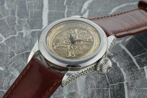 パテック フィリップ PATEK PHILIPPE 腕時計 一点モノ 激レア 美品 スケルトン マリアージュ 手巻き 機械式 レディース可