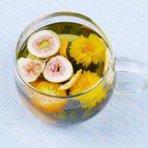 イチジク薄荷ティー 健康茶 薬膳茶 花茶美容茶ハーブティーフルーツティー