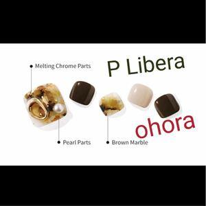 新品 オホーラ フットネイルシール P Libera ohora ペディキュア セルフネイル ジェルネイル フットネイル