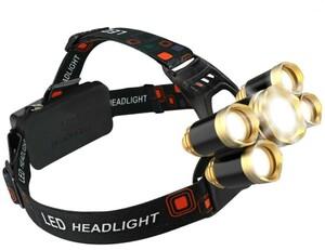 ヘッドライト ヘッドランプ led 高輝度 ヘッドライトCREE T6 送料無料