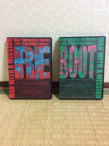 MAN WITH A MISSION/Wolf Complete Works~LIVE STREAMING Edition~REとBOOTの2枚セット DVDマンウィズ