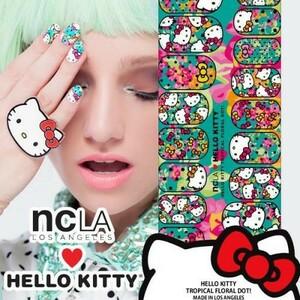 Nail seal HELLO KITTY  爪シール キティちゃん  ネイルラップ ネイル ラップ