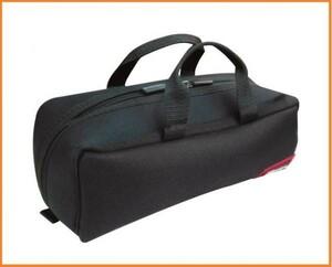 DBLTACT トレジャーボックス ツールバッグ DTQ-S-BK ブラック 道具入れ 横長 バッグ 工具バッグ 両開き鞄 ファスナー 布製 軽い