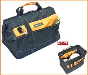 DBLTACT 大口収納バックM DT-CB-M ファスナー式 工具バッグ 道具バッグ 肩掛け テープホルダー 多目的ポケット