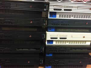 0920 SONY PS2 PlayStation2 ジャンク品 10台 scph 10000 18000 30000 37000 39000 50000 55000 まとめ売り 佐140 s4400 629