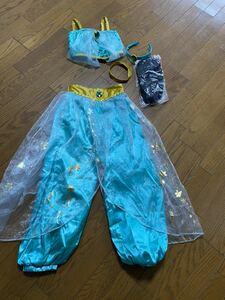 ディズニー ドレス 衣装 コスチューム ジャスミン プリンセス アラジン 130~150サイズ