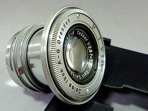 レア◎ツァイス CARL ZEISS JENA TESSAR 2.8/50 旧コンタックスマウント 良品 Nr.1999515