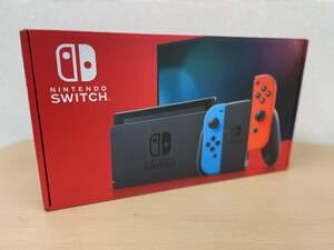 新品 未使用 Nintendo Switch ニンテンドースイッチ 本体 HAD-S-KABAA ネオンレッド ネオンブルー 任天堂