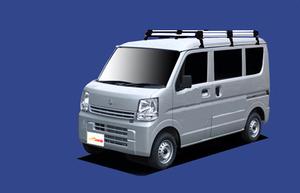 ★TUFREQ ルーフキャリア エブリィ DA17V/DA17W 標準ルーフ用Hシリーズ ロング
