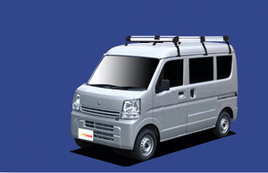 ★TUFREQ ルーフキャリア NV100クリッパー DR17V ハイルーフ用/Hシリーズ ロング