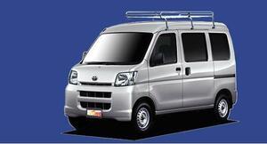 ★TUFREQ ルーフキャリア ピクシスバンS321M ハイルーフ用/Lシリーズ ミドル