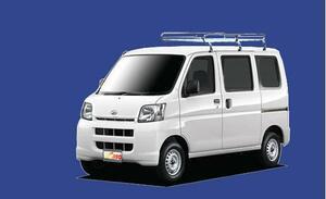 ★TUFREQ ルーフキャリア ハイゼット S320/330系 標準ルーフ用/Lシリーズ ミドル