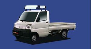 ★TUFREQ ルーフキャリア ミニキャブトラック U61/U62用/Kシリーズ
