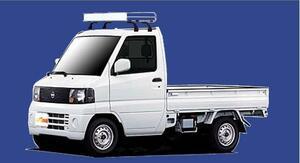 ★TUFREQ ルーフキャリア クリッパートラックU71T/U72T用/Cシリーズ