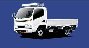 ■TUFREQ ルーフキャリア ダイナ Y22系/Y23系用/Cシリーズ