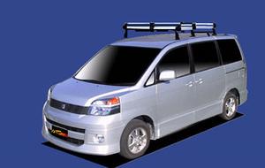 ★TUFREQ ルーフキャリア ヴォクシー AZR60G/AZR65G用/Hシリーズ ミドル