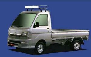 ★TUFREQ ルーフキャリア ハイゼットトラック S200P/S210P用/Cシリーズ
