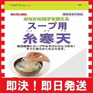 100g 伊那食品工業 スープ用糸寒天 100g 機能性表示食品