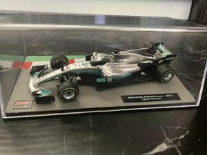 メルセデス W08 ルイス ハミルトン 1/43 - Deagostini F1マシンコレクション デアゴスティーニ