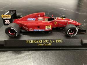 1/43 racing43 ハンドメイド完成品 フェラーリ F92A イワン カペリ検索用 TAMEO KIT BBR スパーク PMA ミニチャンプス ホットウィール